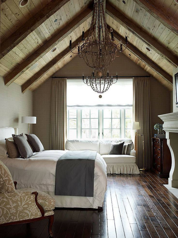 Attic Bedroom & Turn Your Attic Into the Ultimate Master Bedroom - Dreamweave Bamboo ...