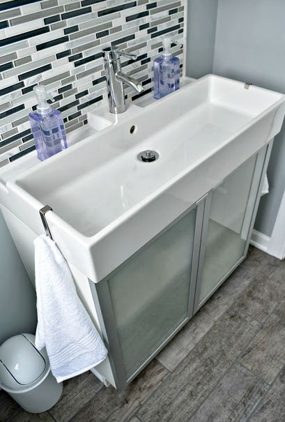 There are many advantages to opting for a trough sink in your bathroom, and  they can be designed to fit practically any function you need.